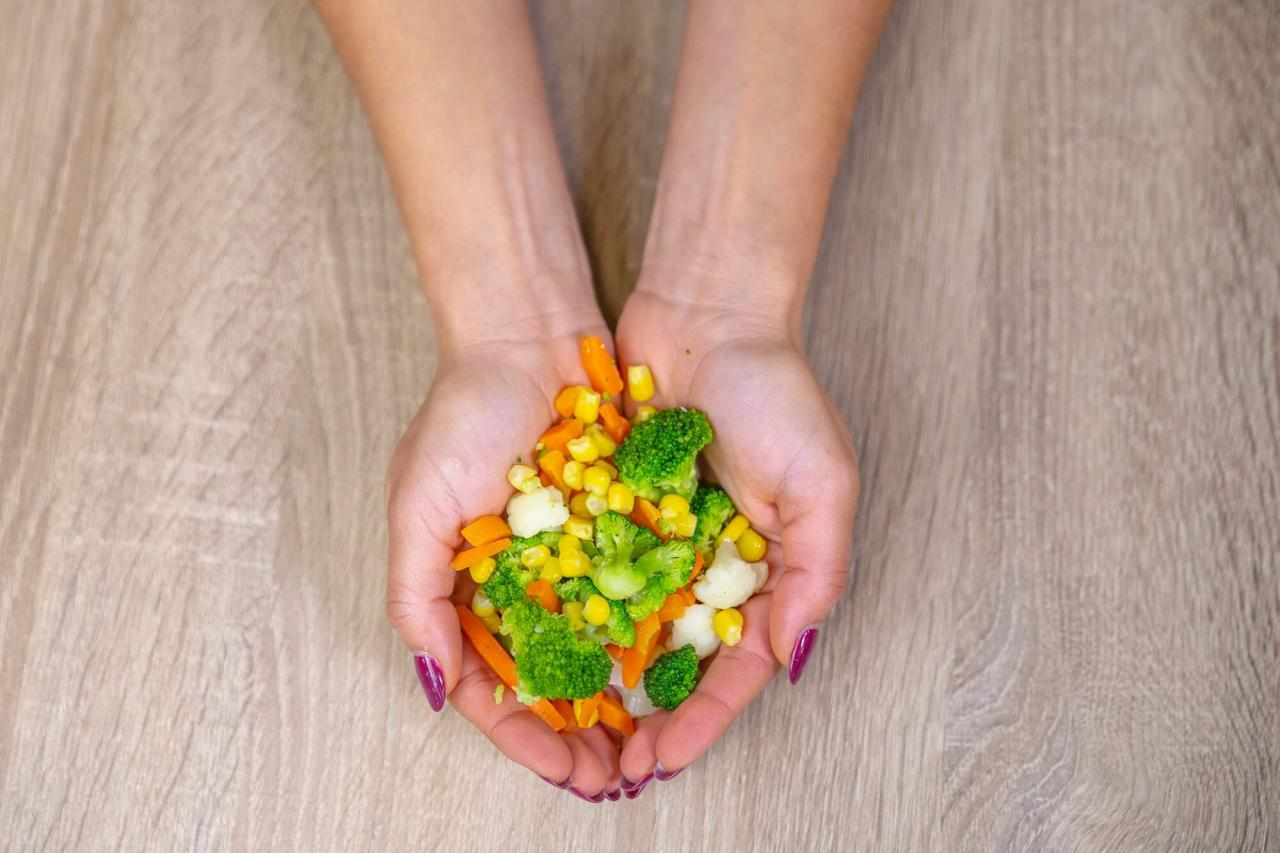Estos trucos te ayudarán a determinar el tamaño de la porción con tus manos