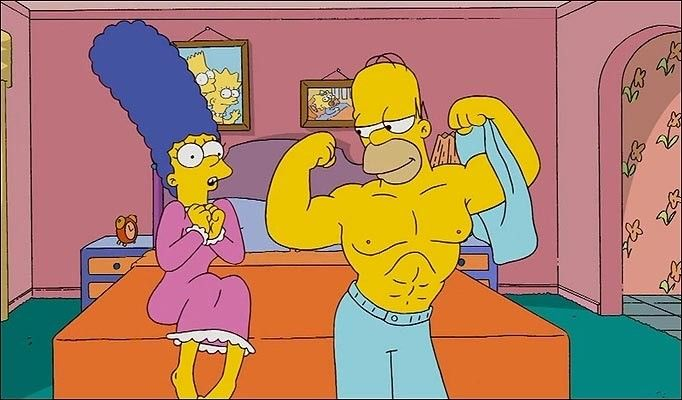 HOMMER CON MARGE