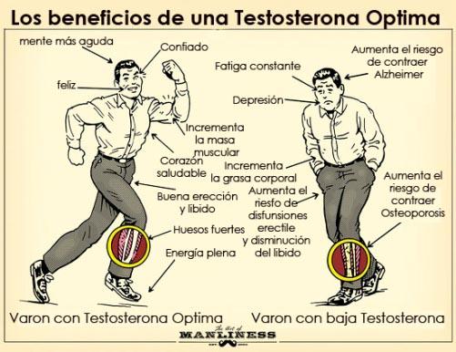 beneficios de una testosterona optima