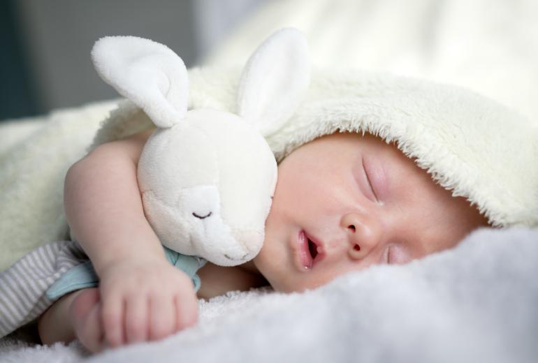 Descanso de un bebe